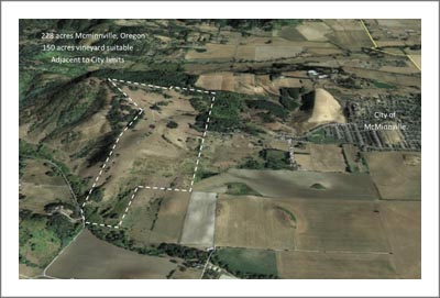 McMinnville AVA Farm Land For Sale - Vineyard Potential - Two Homes w/ Multiple Outbuildings - WineCountryLand