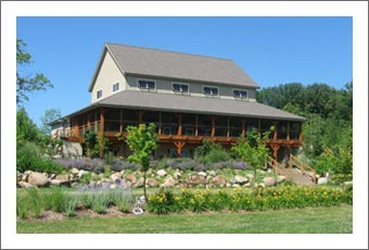Winery For Sale - Timber Frame New York Winery For Sale - Wine Country Real State