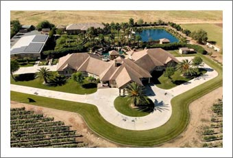 Northern California Wedding / Event Venue For Sale - Luxury Home w/ Pool and Vineyard For Sale