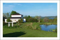 New Brunswick Wine Country Home For Sale - Home w/ Pond and River Views - Vineyard Potential