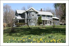 New York Wine Country Home - 1100 Ft of Cayuga Lake Shoreline - Vineyard Potenial - 159 Acres - NY Land For Sale