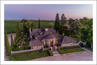 Paso Robles Vineyard For Sale - Branch Road Vineyard For Sale - Luxury Home with Beauiful Mature Gardens