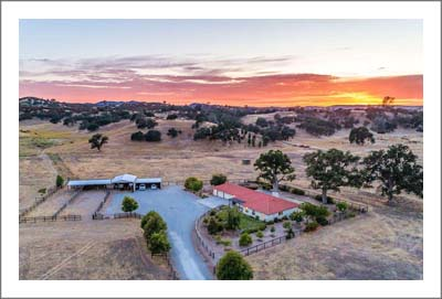 Paso Robles Ranch For Sale - Creston Horse Property  - O Donovan Road Home For Sale