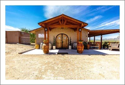 Arizona Winery For Sale - Winery, Vineyard and Tasting Room - Irrigated Greenhouse & Home