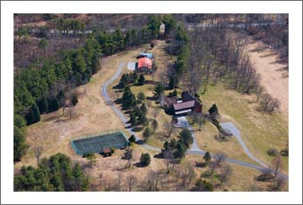 Virginia Vineyard Land For Sale - 69 Acres - Large Wine Country Home w/ Stocked Pond