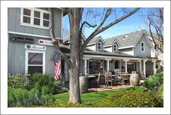 Tasting Room For Lease - Los Olivos - Santa Ynez Valley Wine Country Real Estate