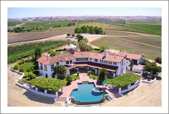 California Vineyard For Sale - Luxury Home w/ Vineyard For Sale in Paso Robles AVA