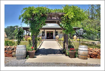 Winery For Sale - Sierra Foothills Winery and Vineyard For Sale - Event Venue: Weddings , Concerts and Events - Wine Cave and Victorian Home