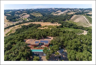 Willow Creek District Vineyard For Sale - Paso Robles Vineyard and Home For Sale w/ Pool