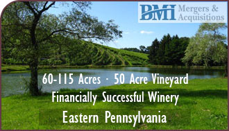 Pennsylvania Winery and Vineyard For Sale - Pennsylvania Wine Country