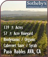 Paso Robles AVA Biodynamic / Organic Vineyard For Sale - Cabernet Sauvigon / Syrah Vineyard For Sale - Paso Robles Real Estate