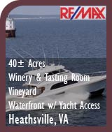 Virginia Winery and Vineyard For Sale  - Pond - Fauquier County Wine Country Real Estate