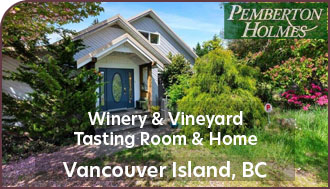 Vancouver Island Winery and Vineyard For Sale - British Columbia Winery and Vineyard For Sale - Canada Wine Country