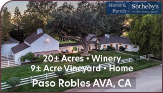 Paso Robles Winery For Sale - Winery, Vineyard, Event / Wedding Venue and Home For Sale - Creston, California