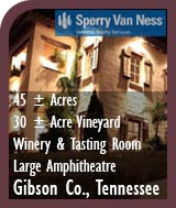 Tennessee Winery and Vineyard For Sale - Crown Winery