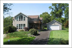 Cayuga Lake Home For Sale - On Cayuga Lake Wine Trail - Wine Real Estate