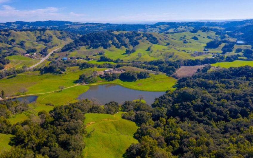 Westside Paso Robles AVA Ranch For Sale w/ 2 Large Ponds & Vineyard Potential