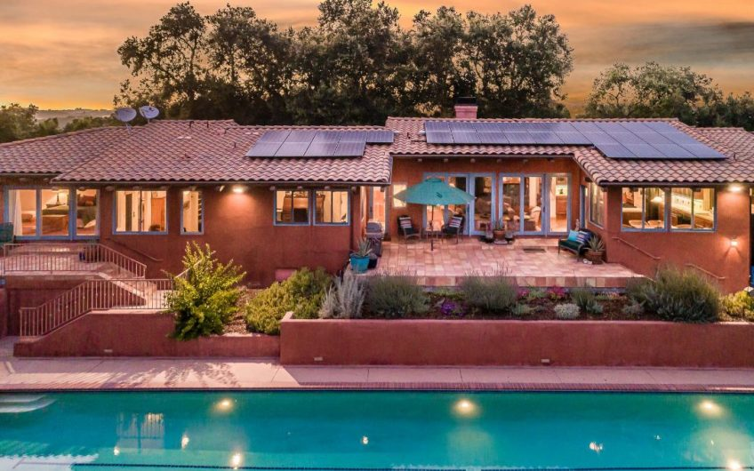 Mediterranean-Style Villa & Vineyard on 30± Acres