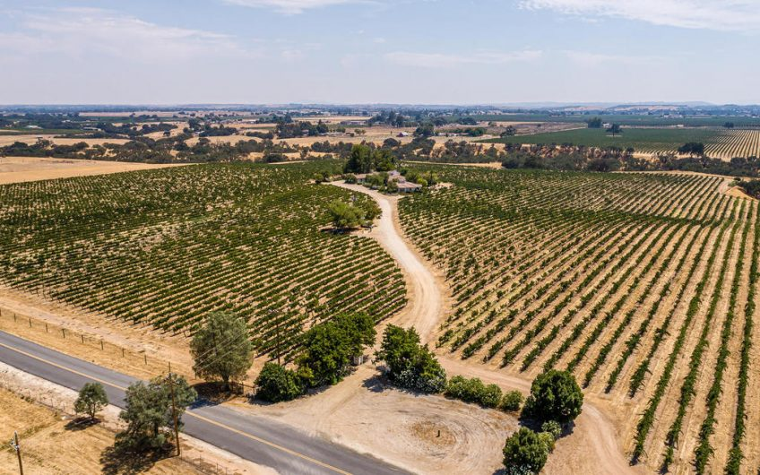 Paso Robles Vineyard Estate For Sale – SOLD
