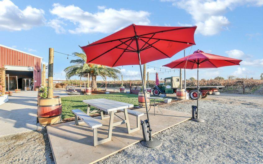 Northern California Winery & Vineyard For Sale w/ Luxury Home + Pool